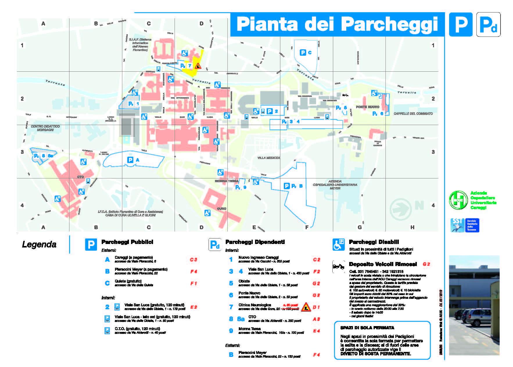 Cartina Ospedale Careggi Firenze.Aouc Azienda Ospedaliero Universitaria Careggi