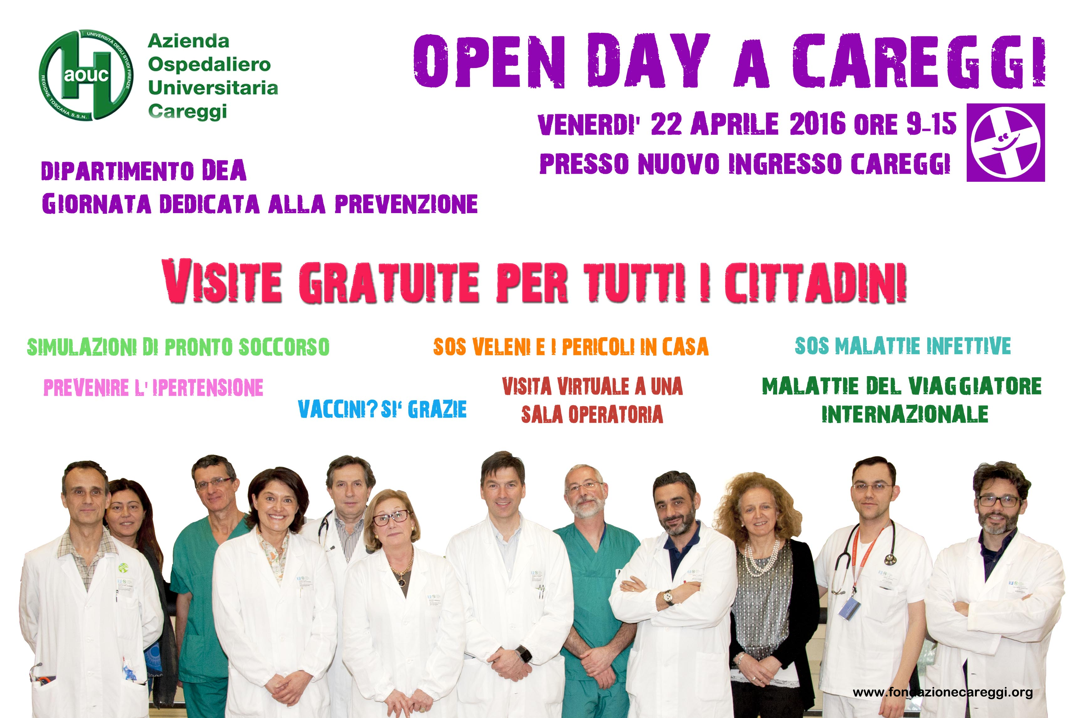 poster Open day aprile 2016