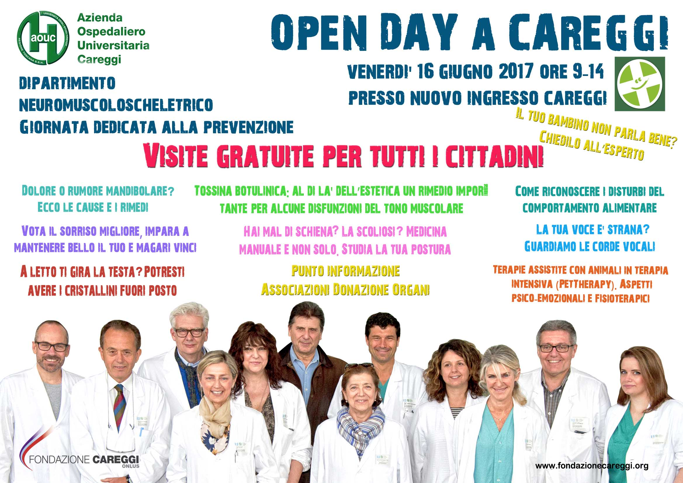open day Neuromuscoloscheletrico