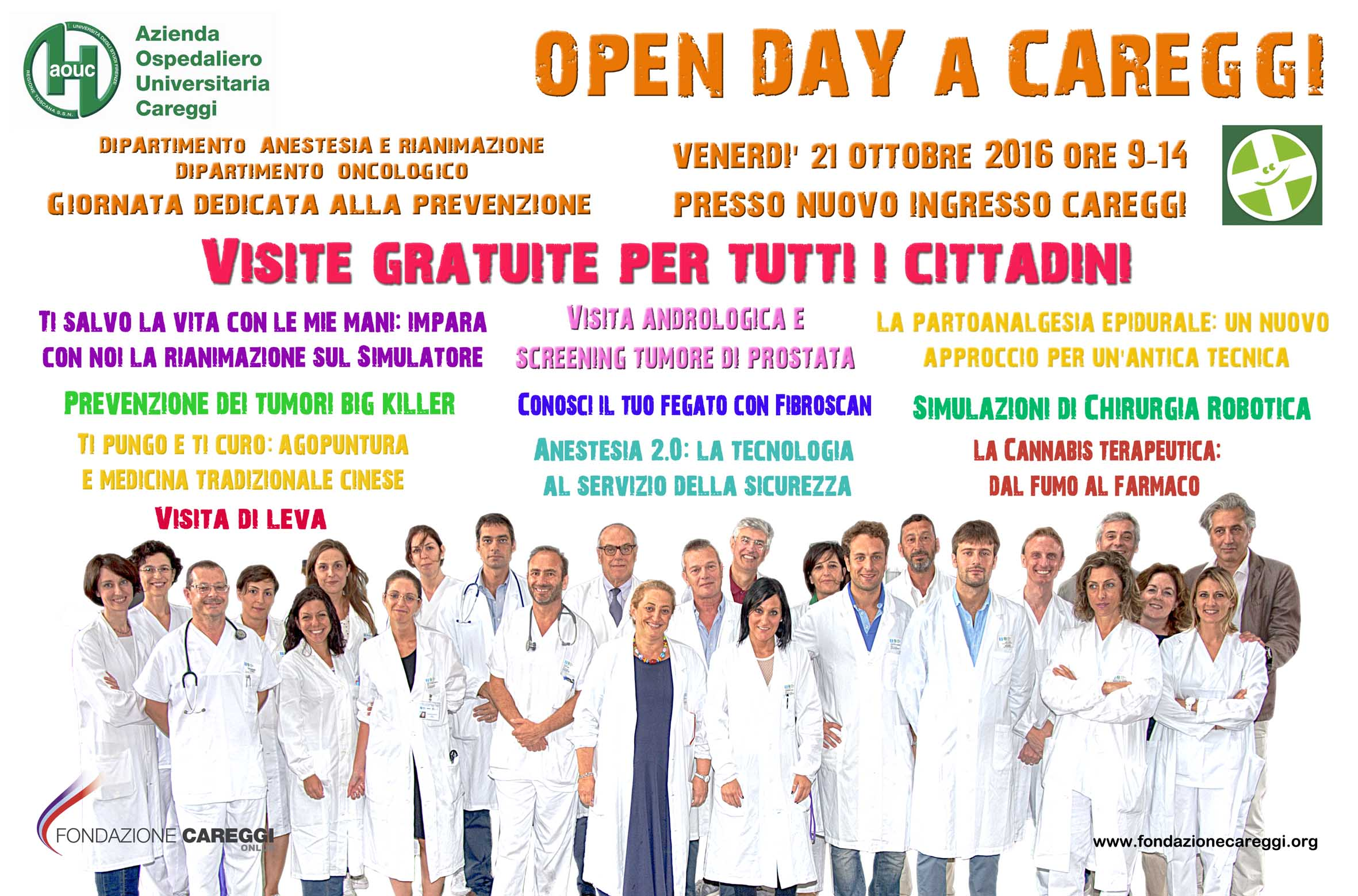 Openday AnestRian Oncologia